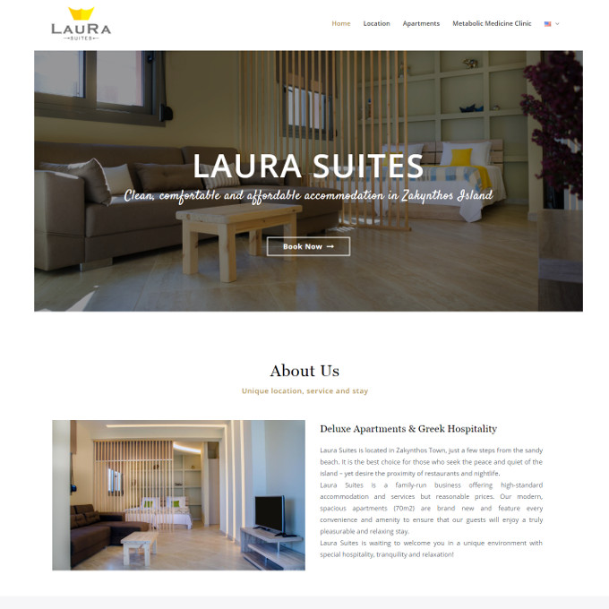 laurasuites-website